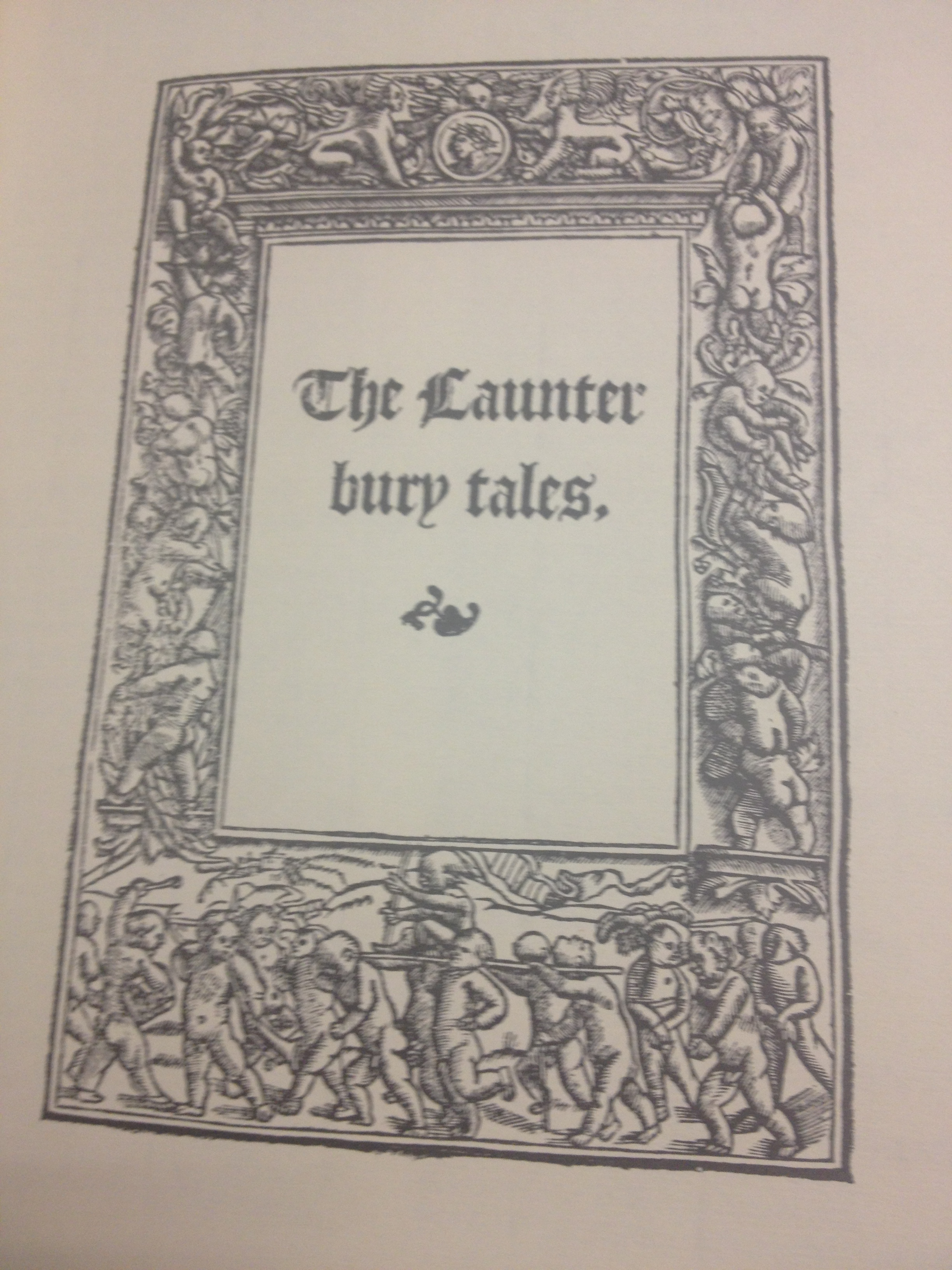 The Caunterbury Tales