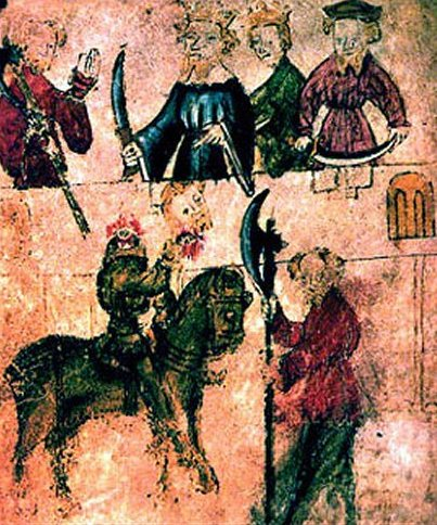 Sir Gawain and the Green Knight from the Pearl Manuscript