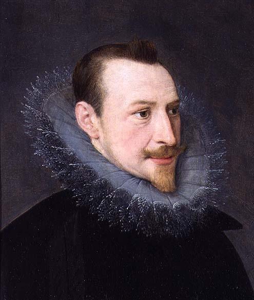 "Portrait of Edmund Spenser, English Renaissance poet and author of ""The Fairie Queene""."