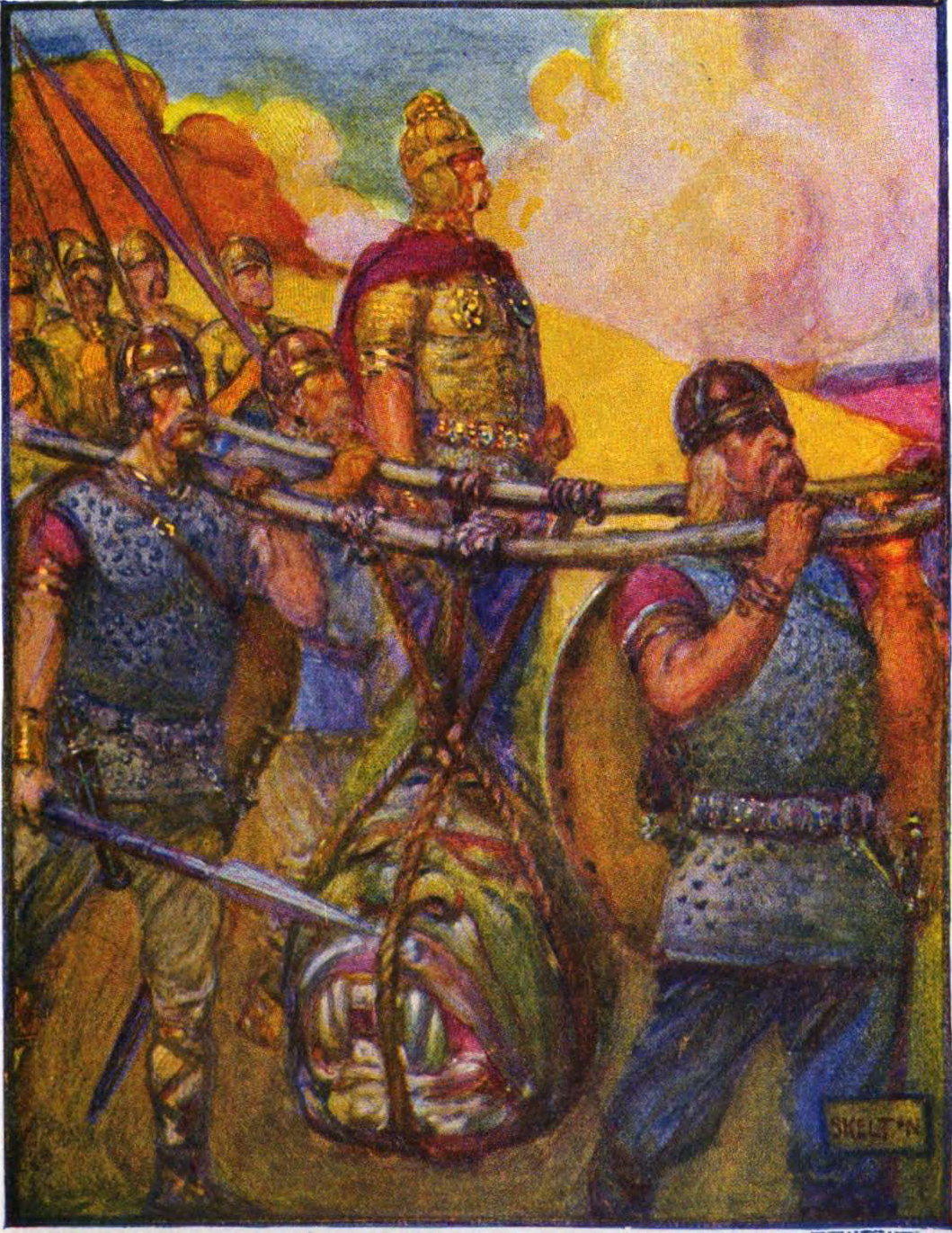 an analysis of christian elements in the epic of beowulf Professor awesome talks about the enormously complex issue of the date of beowulf and what that tells us about christian and pagan elements in the poem.