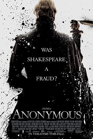 "The Film Poster for Emmerich's ""Anonymous"" (2011)."