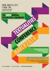 Textualities Conference 2014 Poster
